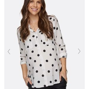 Tops - BAE The Label Maternity Shirt NWT